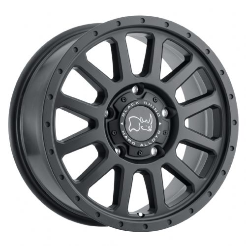 BLACK RHINO HAVASU MATTE BLACK 5/130 for Maxi